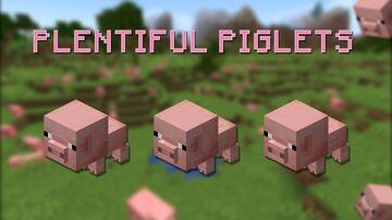 Plentiful Piglets Minecraft Data Pack
