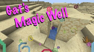 Minecraft But Desert Wells are Magic Potions Minecraft Data Pack