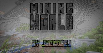 Mining World Minecraft Data Pack