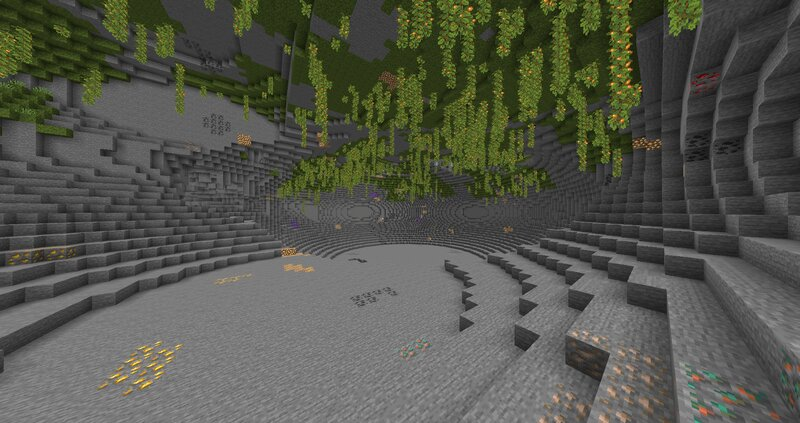 Massive increase in ores and naturally spawning Ancient Debris.