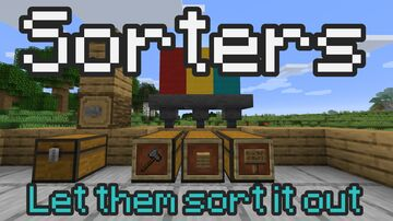 Sorters - Easy, Fast and Flexible Sorting Minecraft Data Pack
