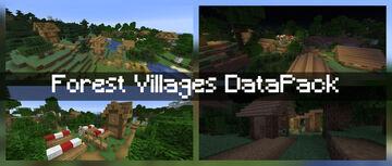 Forest Villages! Minecraft Data Pack