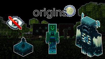 Custom Skulken Origin Datapack (Origins Mod) Warden-Themed Origin Minecraft Data Pack