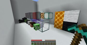 Glass and other blocks now have a mining Tool Minecraft Data Pack