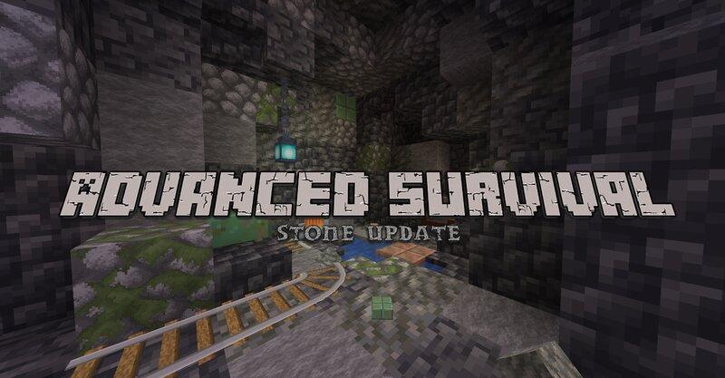 Advanced Survival - Stone Update