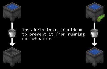 Infinite Cauldrons Minecraft Data Pack