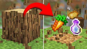 Minecraft but loot are randomized Minecraft Data Pack