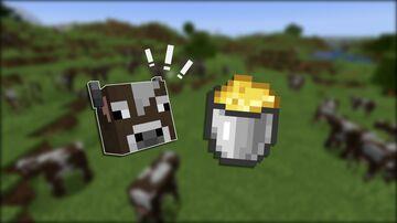 Cheese Bucket Minecraft Data Pack