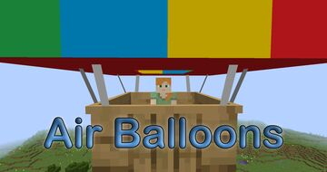 Air Balloons (Sky Vehicle) Minecraft Data Pack