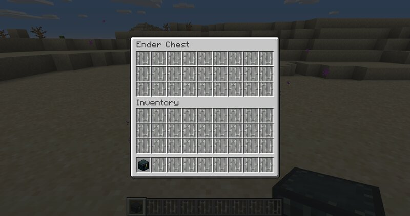 Your Ender Chest is a paid DLC, so to speak.