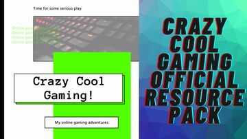 Crazy Cool Gaming Official Resource Pack Minecraft Texture Pack