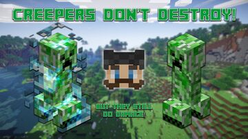 Creepers Don't Destroy! (But Still Deal Damage!) Minecraft Data Pack