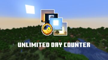 Unlimited Day Counter Minecraft Data Pack