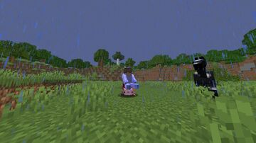 Minecraft, But you can ride AXOLOTLS Minecraft Data Pack