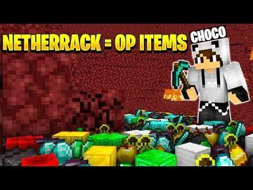 Netherack is OP Minecraft Data Pack