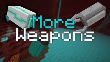 More Weapons! (Read Description) Minecraft Data Pack
