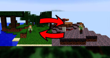 Minecraft But Every Minute You Teleport To Random Place !! Minecraft Data Pack