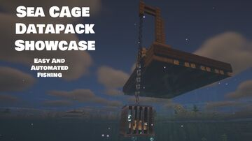 Sea Cage Datapack 1.17 v0.0.1 By GoodErnest64 Minecraft Data Pack