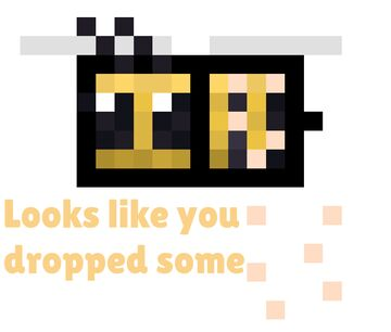 Looks like you dropped some pollen! Minecraft Data Pack