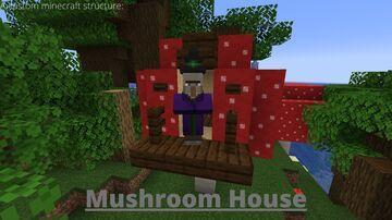 Mushroom House Minecraft Data Pack