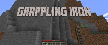 [Datapack] grappling iron [1.16+] Minecraft Data Pack