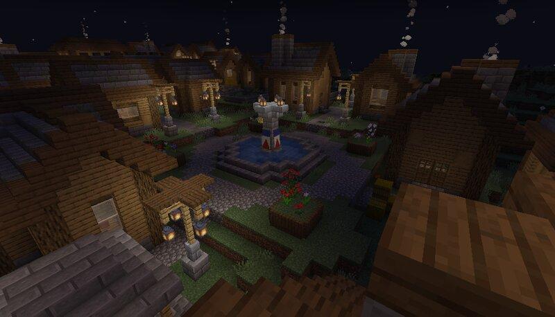 Plains village