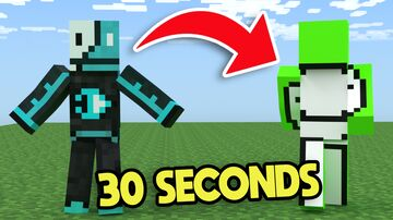 Minecraft but you SHAPESHIFT into YOUTUBERS every 30 seconds Minecraft Data Pack