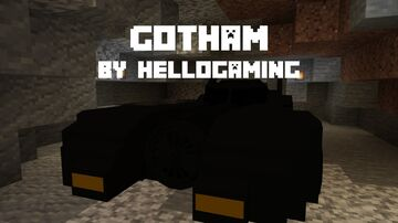 Gotham Minecraft Data Pack