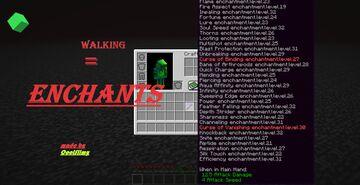 Walking Enchants Datapack Minecraft Data Pack