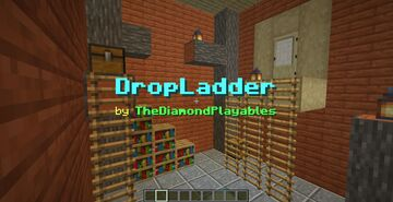 DropLadder: Easy Rope Ladders! Minecraft Data Pack