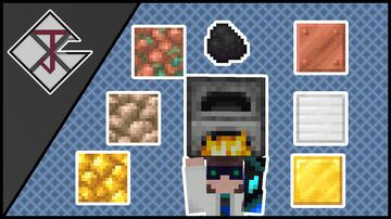 Balanced raw ore block smelting Minecraft Data Pack