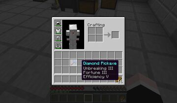 Minecraft But Pickaxes Are Automatically Enchanted Minecraft Data Pack