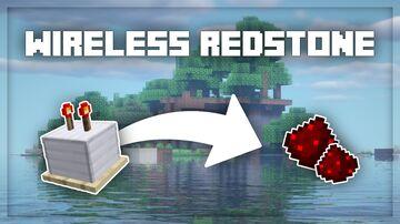 Wireless Redstone Minecraft Data Pack