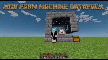 Mob Farm Machine For 1.17 Minecraft Data Pack