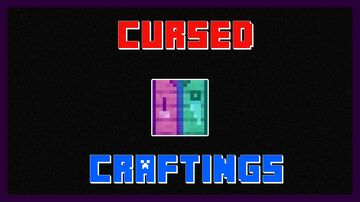 CURSED craftings (for Minecraft 1.16.5 - for PC) Minecraft Data Pack