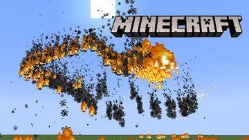 Flaming Snake Boss Fight Minecraft Data Pack