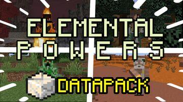 ELEMENTAL POWERS 1.16 - 1.17.1 Minecraft Data Pack