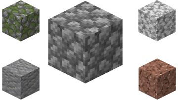 Rock to Cobble Data Pack Minecraft Data Pack
