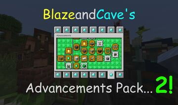 [APRIL FOOLS!] BlazeandCave's Advancements Pack 2 Minecraft Data Pack