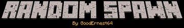 Random Spawn 1.17 Datapack by GoodErnest64 Minecraft Data Pack