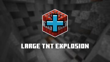 Large TNT Explosion Minecraft Data Pack