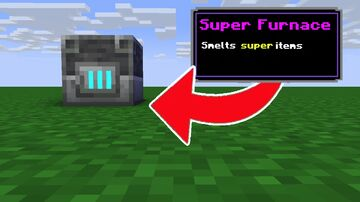 Minecraft, But There Are Custom Furnace Minecraft Data Pack