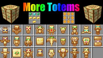 More Totems Minecraft Data Pack