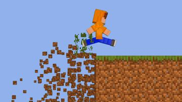 Minecraft, But Moving Destroys The World Minecraft Data Pack