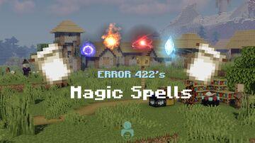 ERROR 422's Magic Spells [1.17 version] Minecraft Data Pack