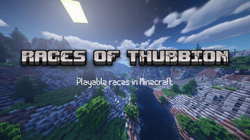 Races Of Thubbion  -  Playable Origins-like Races In Minecraft Minecraft Data Pack