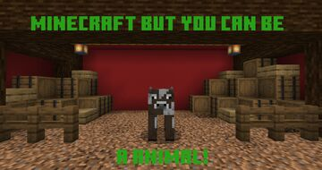 Data pack to where you can turn into animals! Minecraft Data Pack