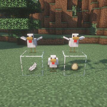 Chicken Drops Minecraft Data Pack