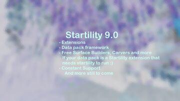 Startility 9 Minecraft Data Pack