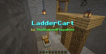 LadderCart [1.17x]: Vertical Rails with Ladders! Minecraft Data Pack